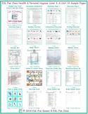 Health & Personal Hygiene Level 3-A Unit 10 Bundle