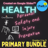 Health - Personal Safety & Injury Prevention - Primary Bun