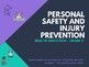 Health - Personal Safety and Injury Prevention - Junior Bundle