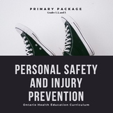 Health - Personal Safety and Injury Prevention - Primary Bundle