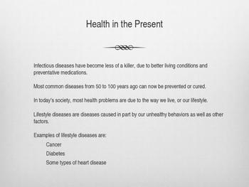 """Health Powerpoint- Holt-""""Lifetime Health"""""""