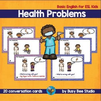 ESL Vocabulary Pack: Health Problems