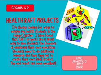 Health RAFT Projects