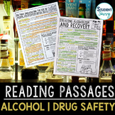 Health Reading Passages: Alcohol Prevention - Questions -