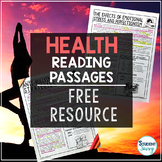 Health Reading Passages | Mental Health Free Resource