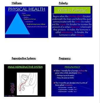 Health:  Reproductive Health Bundle