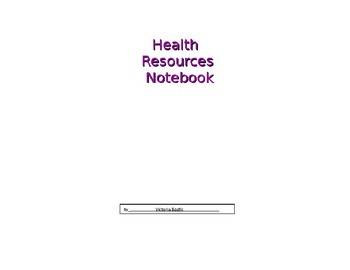 Health Resources for Elementary