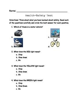 Health- Safety Test
