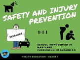 Health - Safety and Injury Prevention - Maryland - Strange