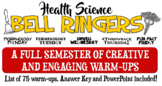 Health Science Bell-Ringers- 75 Themed Warm-up Questions