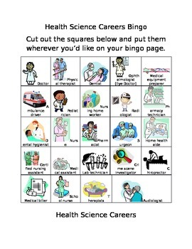 Health Science Career Clust... by Counselor Resources | Teachers ...