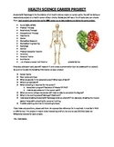 Health Science Career Project