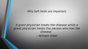 Health Sciences Soft Skills Presentation