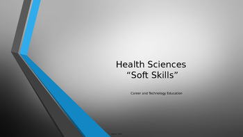 Health Sciences Soft Skills Presentation