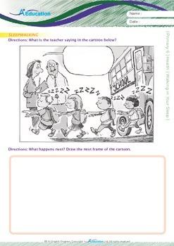 Health - Sleepwalking: Walking in your Sleep - Grade 6