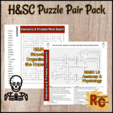 Health & Social Care L3 U3 Anatomy & Physiology Puzzle Pair Pack