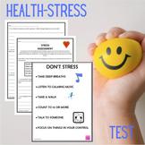 Health-Stress Assessment