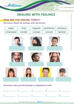 Health - Dealing with Feelings - Grade 5