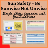 Health Sun Safety Sunwise Hyperdoc Lesson Distance Virtual