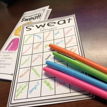 Health: Sweat