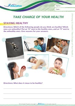 Health - Take Charge of Your Health - Grade 5