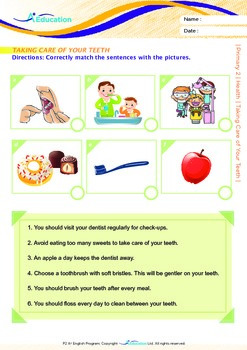 Health - Taking Care of Your Teeth - Grade 2
