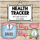Health and Fitness Tracker with Diet and Exercise Journal