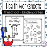 Health Unit Activities - Printables and Worksheets for Pre