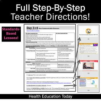 Diseases Lessons: Get This Informative Communicable + Non-Communicable Unit!