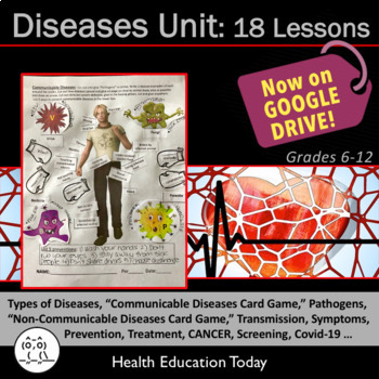 Disease Prevention and Treatment: Get 15 Fun, Interactive Lessons!