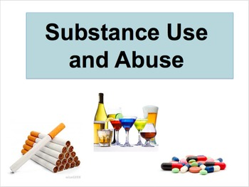 Health Unit - Substance Use and Abuse