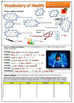 Health Vocabulary Lesson - Illness / at the Doctors: Worksheet & PowerPoint