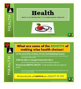Health, Health Lesson, Life Skills,