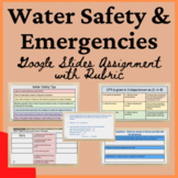 Health Water Safety & Emergencies Lesson Distance Virtual