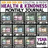 Health, Wellness & Kindness Daily Journal | YEAR LONG BUNDLE | Google & Print