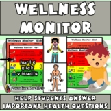 Health & Wellness Monitor: Help Communicate Sick, Hurt & Pain– Distance Learning