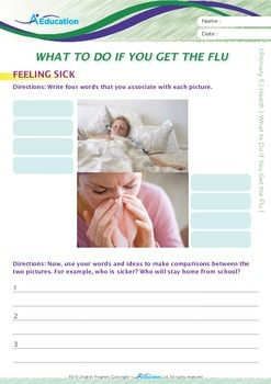 Health - What to Do if You Get the Flu - Grade 5