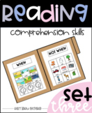 Basic Reading Comprehension Skill Builders: Set three