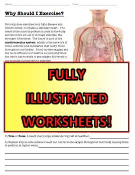 Health Workbook w/Heart Rate Lab (Fitness, Disease, Nutrition)