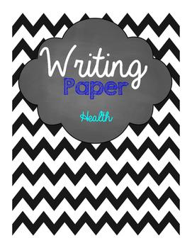 Health Writing Paper