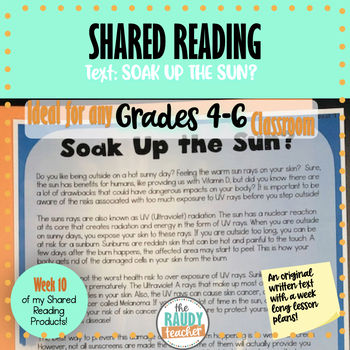 Shared Reading Bundle 5 Ontario Curriculum