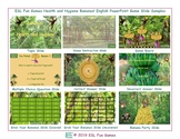 Health and Hygiene Bananas Interactive English PowerPoint Game