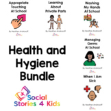 Health and Hygiene Bundle (English Black and White Versions)