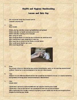Health and Hygiene, Handwashing