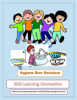 Hygiene Healthy Habits Task Cards