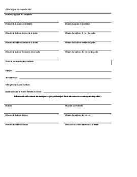 Health and Medication Survey