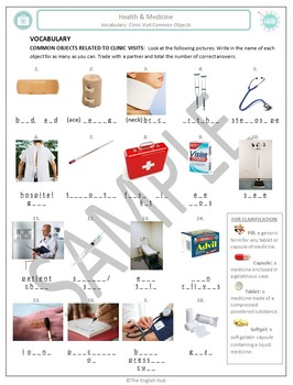 Health and Medicine (A): Common Clinic objects