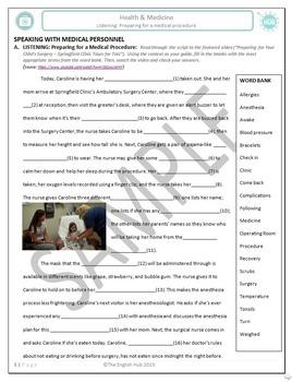 Health and Medicine (B/C): Common Medical Procedures