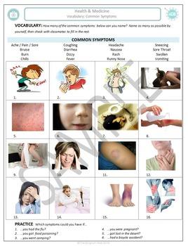 Health and Medicine (A): Common symptoms