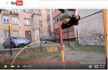 Health and Medicine (B): Diagnosing Injuries w/Parkour video  (Adult ESL)